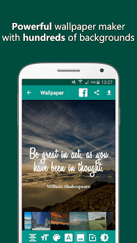 Quote It Quote Maker Wallpaper Generator By Sociosoft