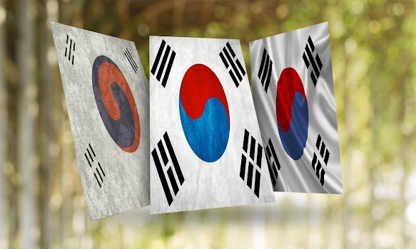 South Korea Flag Wallpaper By Hd Flags Personalization Category