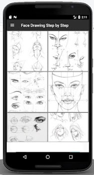 Face Drawing Step by Step