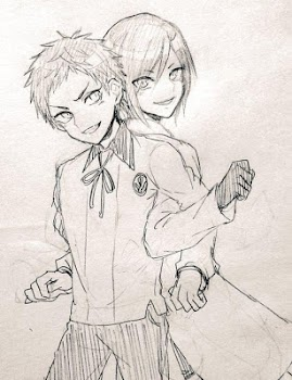Drawing Anime Couple Ideas By Fe Andro Yuya Art Design