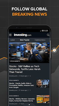 Stocks, Forex, Finance, Markets: Portfolio & News