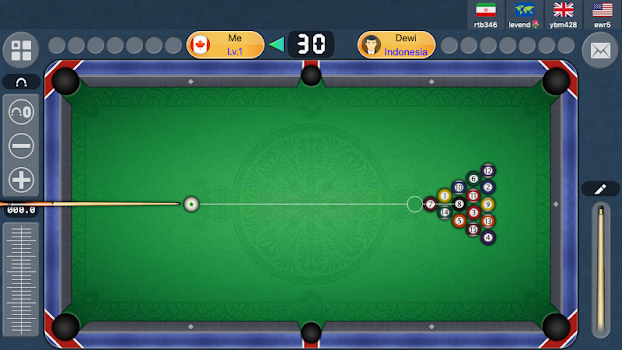 Hot! 8 Ball Online Free Pool Game 2019