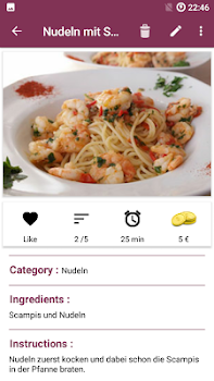 Food recipe app free cookbook recipes by f zander food food recipe app free cookbook recipes forumfinder Choice Image