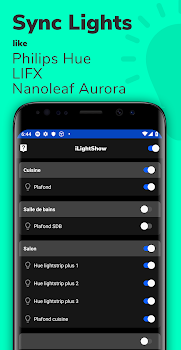 iLightShow for Philips Hue / LIFX / Nanoleaf