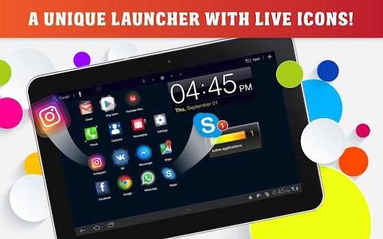 Launcher Live Icons for Android