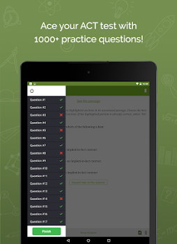 Best 10 act test prep apps appgrooves act up 1 test prep solution fandeluxe Gallery