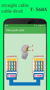 RJ45 Color Code Cable Wiring - by Lasri Mustapha - Education ...