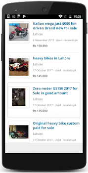 Motorcycles for Sale Pakistan