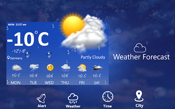 weather forecast 7 days daily hourly weekly by ms softtech apps