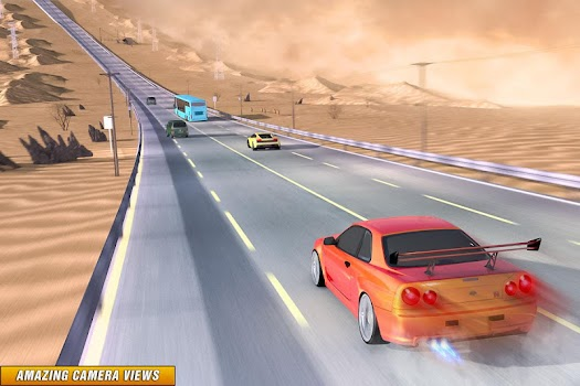 Drive in Car on Highway : Racing games