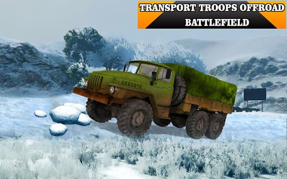 Army Truck Driving 3D Simulator Offroad Cargo Duty