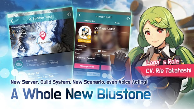 Blustone 2 - #1 Tap Adventure Anime RPG!