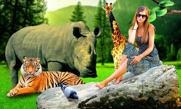 Wild Animal Photo Editor Background Changer By Apptrends