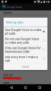 Dialer Free for Google Voice
