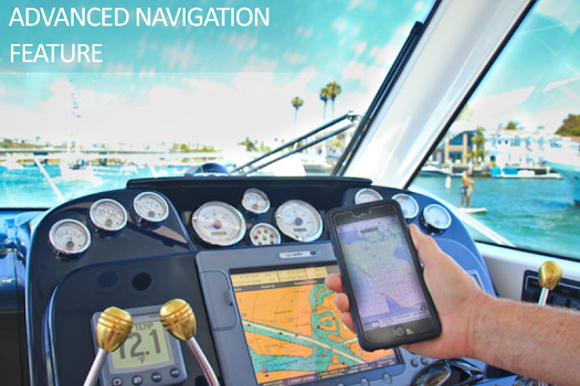 Boating Navigation & Fishing GPS