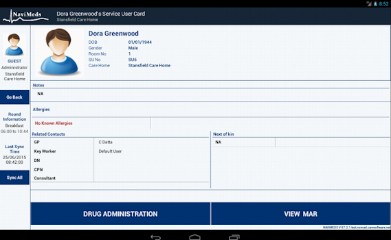 NAVIMEDS - by SOFTWARE SOLUTIONS CENTRE LTD - Medical Category - 4
