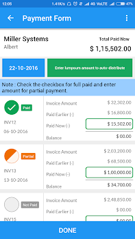 Simple Invoice Manager By TackTile Systems App In Invoice - Simple invoice manager