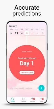 Period Tracker Flo, Pregnancy & Ovulation Calendar