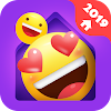 IN Launcher - Love Emojis & GIFs, Themes