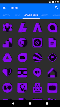 Purple Noise Icon Pack - by Ronald Dwk - Personalization Category