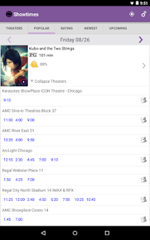 Showtimes (Local Movie Times and Tickets)