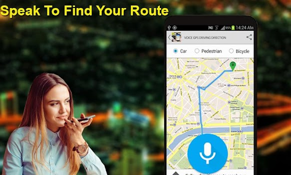 Gps Voice Maps: Satellite View Driving & Direction