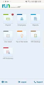 Run Powered By Adp Mobile Payroll For Employers By Adp Llc