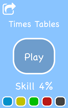 Cool Times Tables Flash Cards