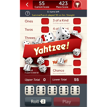 YAHTZEE® With Buddies: A Fun Dice Game for Friends