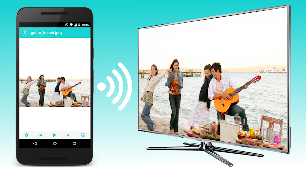Nero Streaming Player | Connect phone to Smart TV