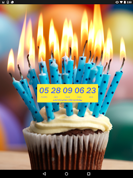 Birthday Countdown Widget
