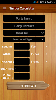 Timber Calculator