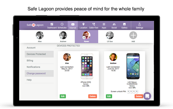 Safe Lagoon 🐠 Parental Control with Advanced AI
