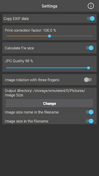 Image Size - Photo Resizer