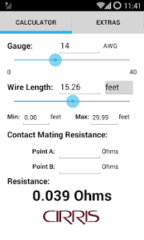 Wire resistance calculator by cirris systems corporation tools wire resistance calculator keyboard keysfo Image collections