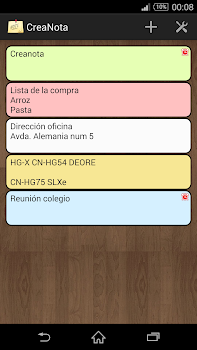 CreateNote: Notes, Alarm, Colors, Text to Speech