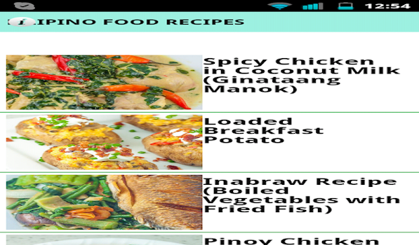 Filipino food recipes by zghari apps food drink category 131 filipino food recipes forumfinder Image collections
