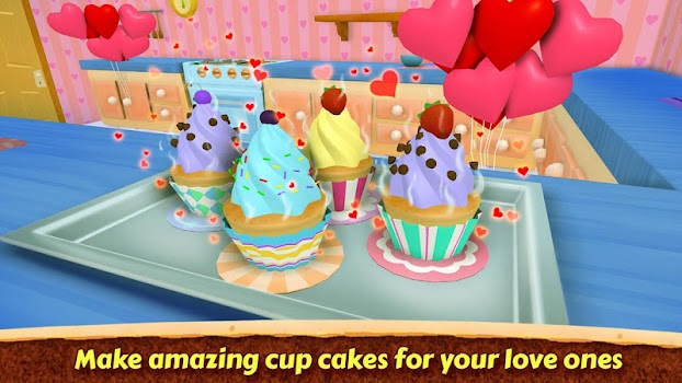 Valentine Love Cake Maker Real Cook Game
