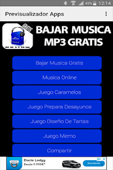 bajar musica mp3 player