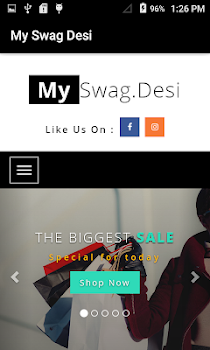 My Swag Desi - Online Shopping App