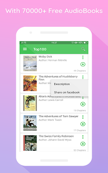 Best 10 audiobook apps appgrooves discover best iphone android free audiobooks fandeluxe Image collections