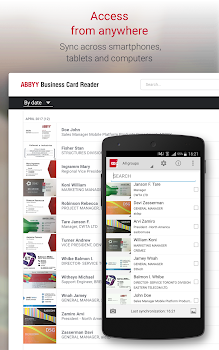 Business card reader pro business card scanner by abbyy 18 business card reader pro business card scanner reheart Gallery