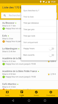 Schlouk Map - La Carte des Bars & des Happy Hours