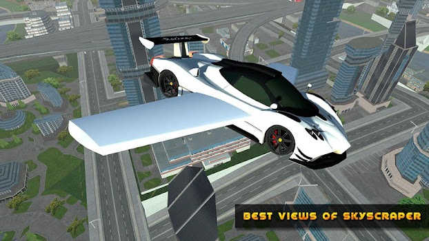 Flying Car Real Driving By Game Tap Simulation Games Category