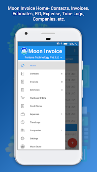 Moon Invoice Easy Invoicing Accounting App By Moon Technolabs - Moon invoice