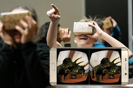 Visit The Dinosaurs VR Museum (CardBoard)