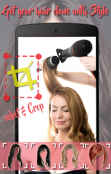 Girls Hair Style Photo Editor Women Hairstyle By Photoflameeditor