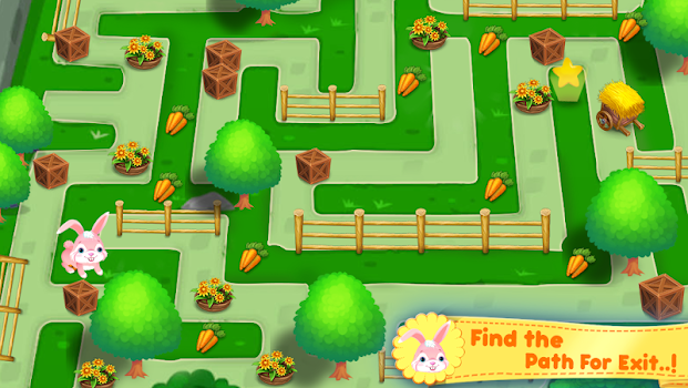 Educational Maze Puzzle Kids Game