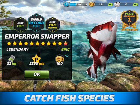 Fishing Clash: Catching Fish Game. Bass Hunting 3D