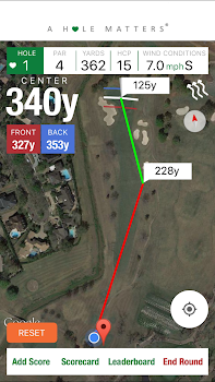 A HOLE MATTERS Golf GPS with Fundraising Tools